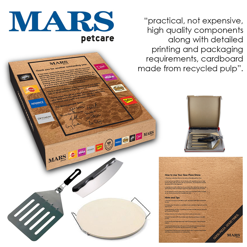 Mars Pizza Box