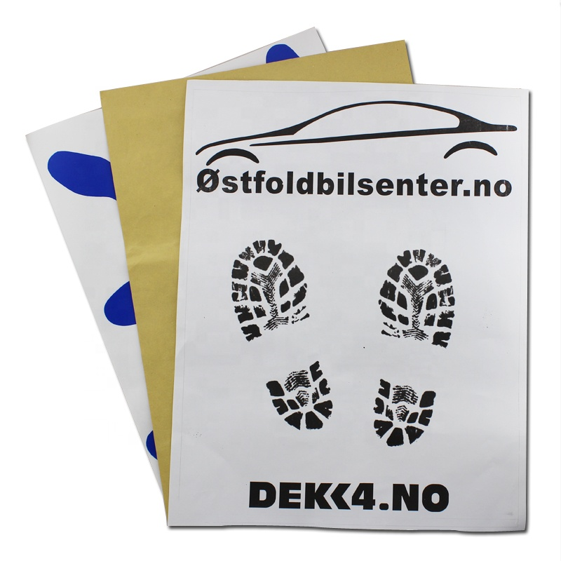 Motor Vehicle - Disposable Paper Floor Mats