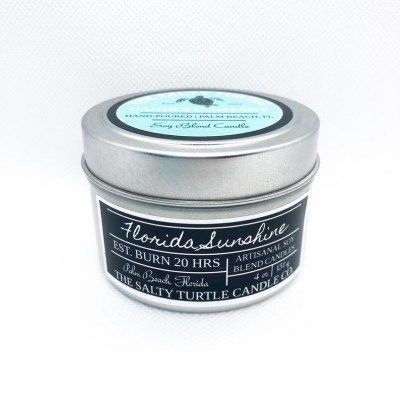 Soy Candle (Custom Tin)