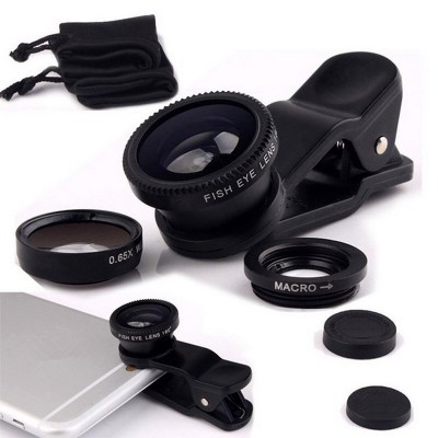 Fisheye-Lens-3-in-1-mobile-phone-clip-lenses-wide-angle-macro-fish-eye-camera-lens