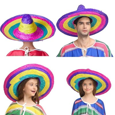 Good-quality-sombrero-mexican-straw-hat