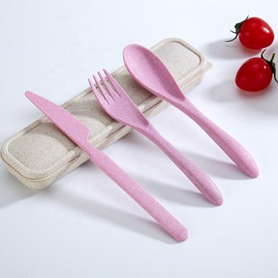 Cutlery Set - Wheat / PP