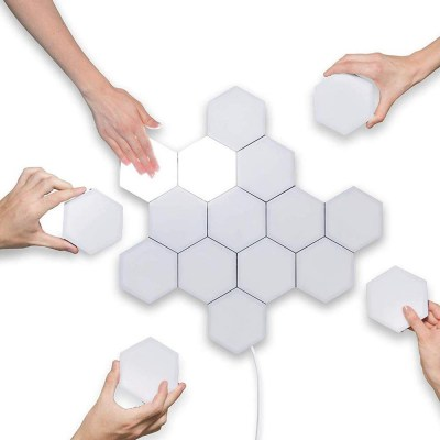 Hexagonal Wall Light