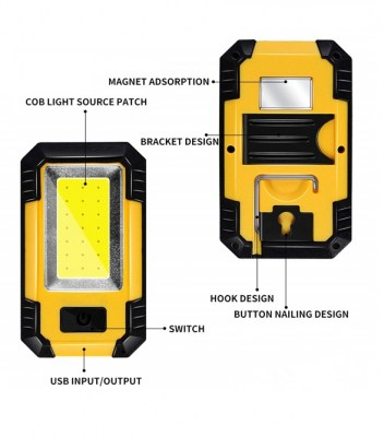 Work Light - 5W COB  Rechargeable